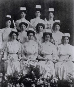 The first graduating class of St. Paul's Nursing School, 1910