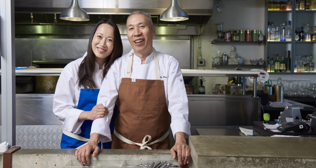 Patricia and Stanley Wong